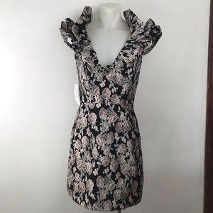Free People Dresses - FREE PEOPLE X SAYLOR Maeve ruffle rose dress XS